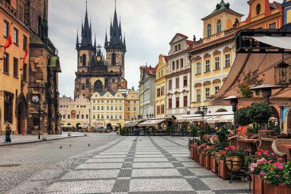 Чартерные рейсы в Чехию