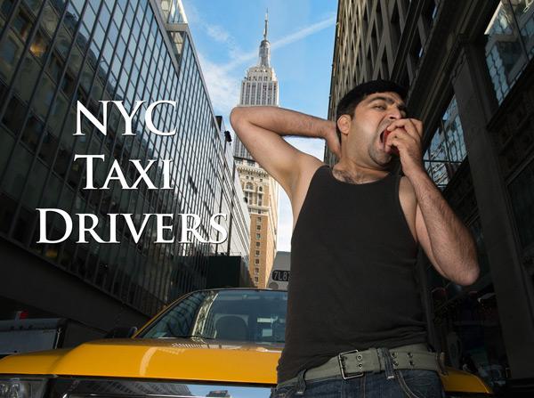 нью йоркские таксисты