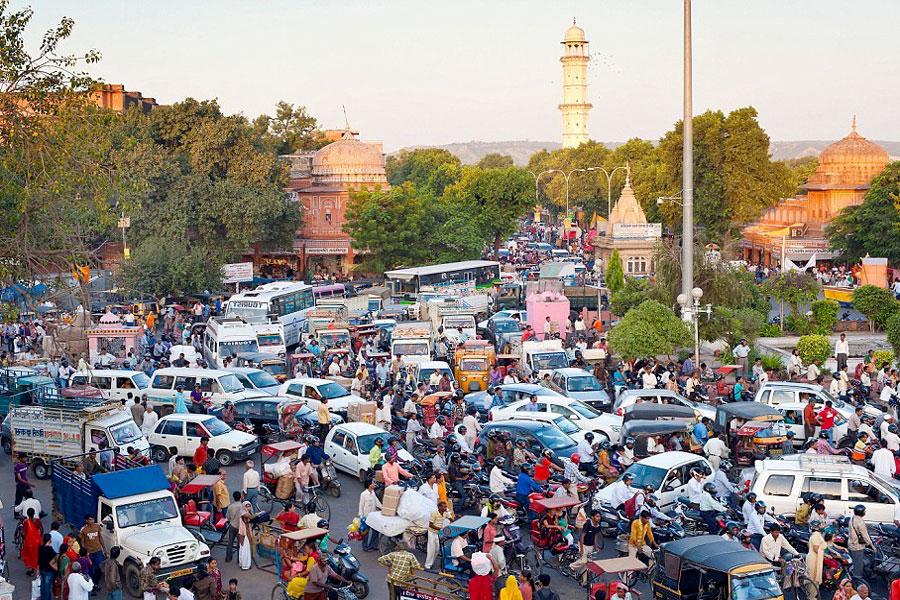 дороги в индии