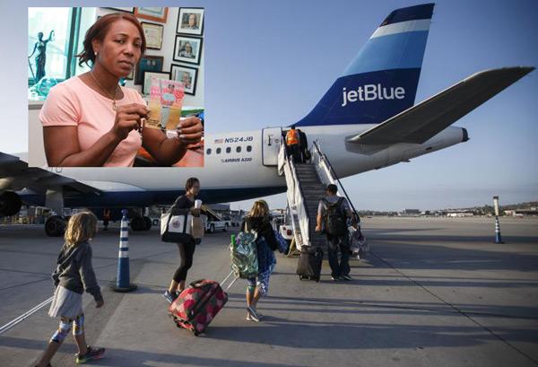 авиакомпания JetBlue перепутала детей