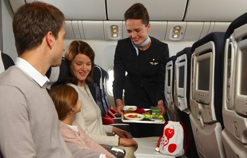 бесплатное питание на британских авиалиниях