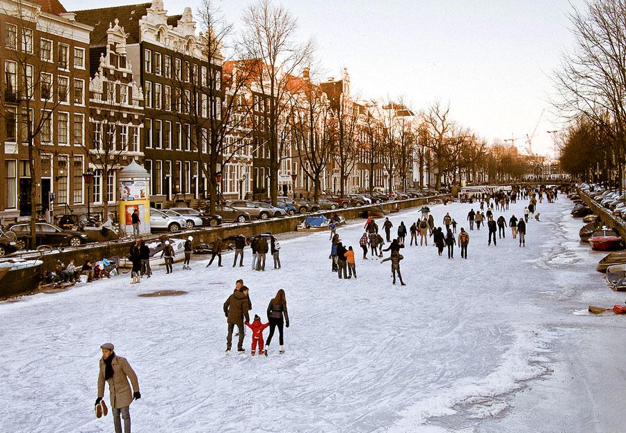 отдых в амстердаме зимой