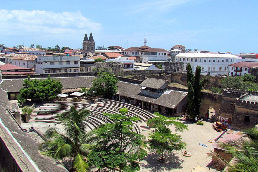 каменный город на острове занзибар танзания