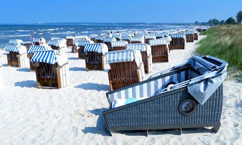 корзины для сна на пляже
