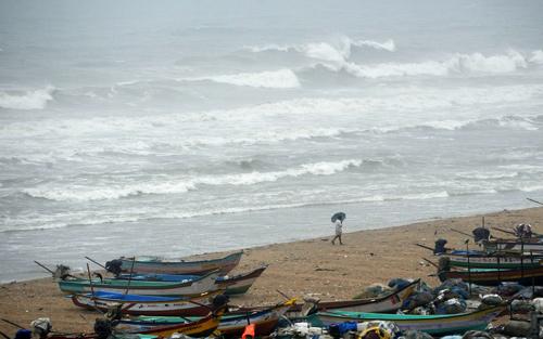 шторм на индийском острове хэвлок