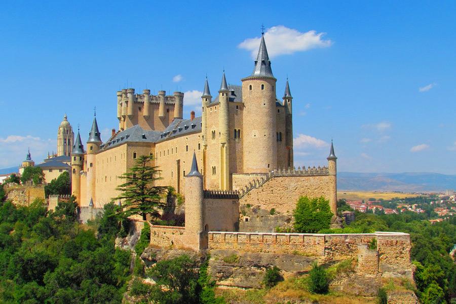 крепость алькасар испания