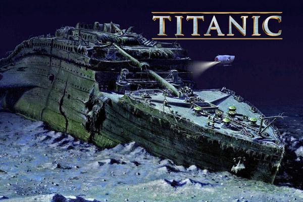 подводная экскурсия к титанику