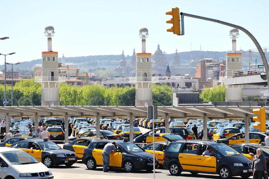 барсилона такси