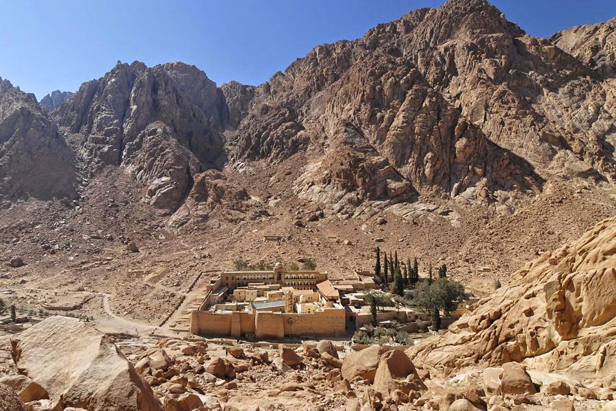 восхождение на гору моисея египет