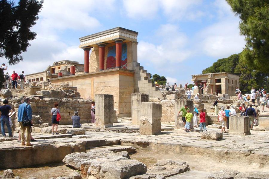 храмы древней греции