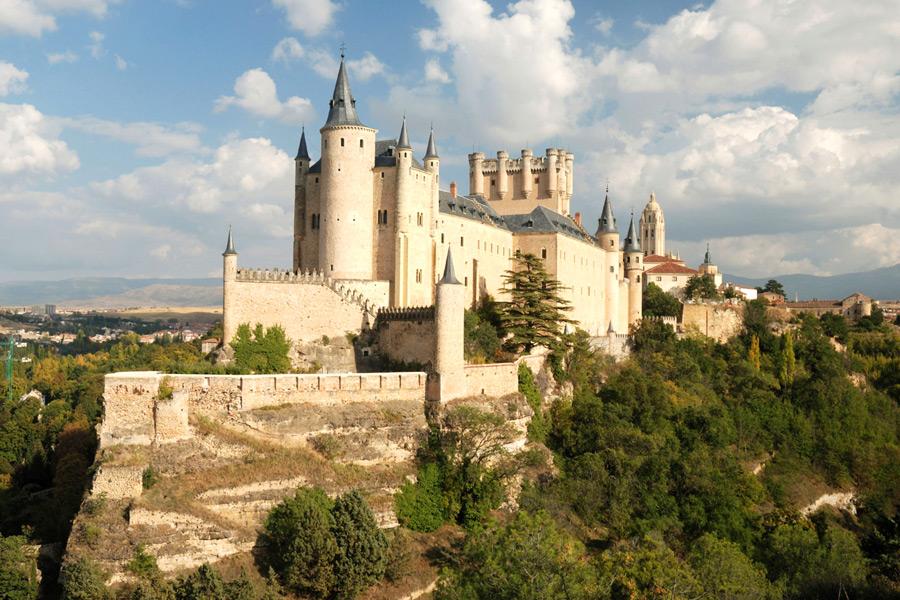 дворец алькасар в сеговии