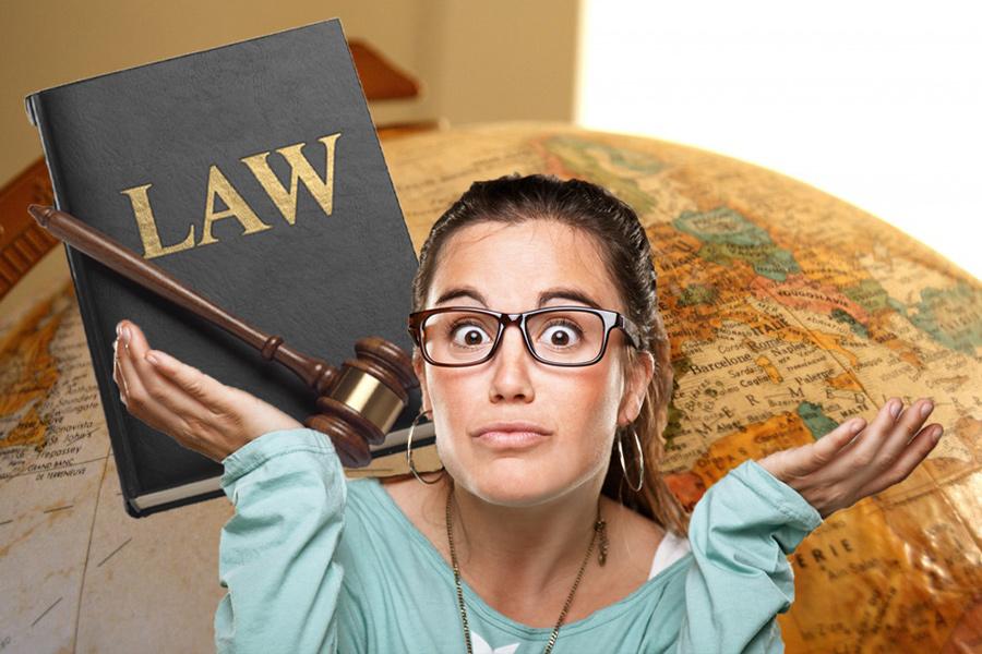 необычные законы разных стран