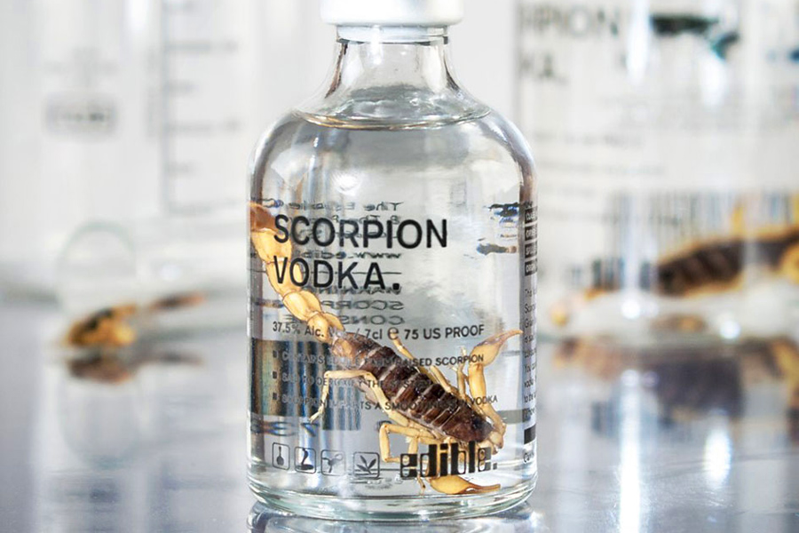 водка со скорпионом
