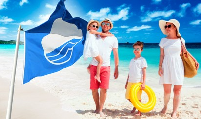 пляжи с голубыми флагами