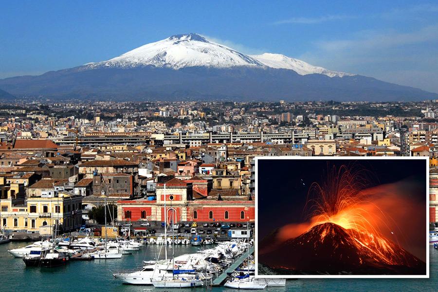парк вулкан этна италия