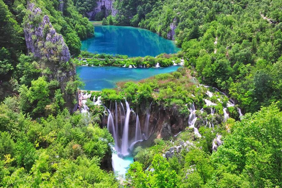 национальные парк плитвицкие озера хорватия
