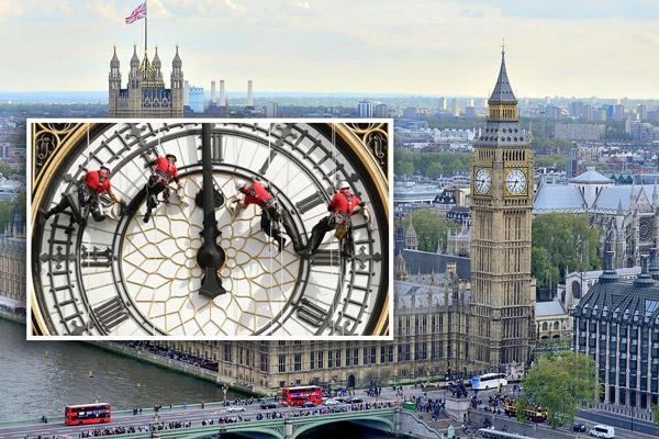 ремонт биг бена в лондоне