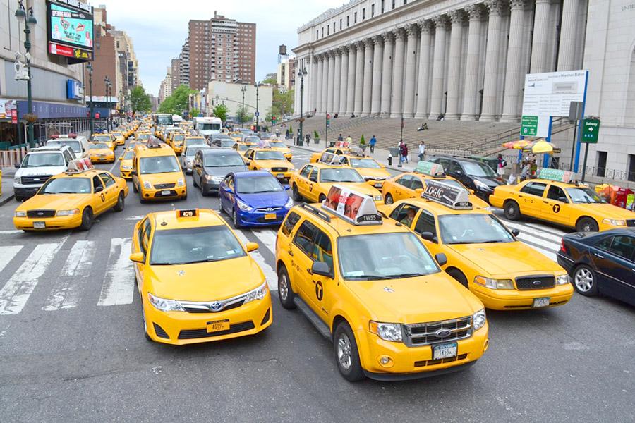 заказ такси за границей