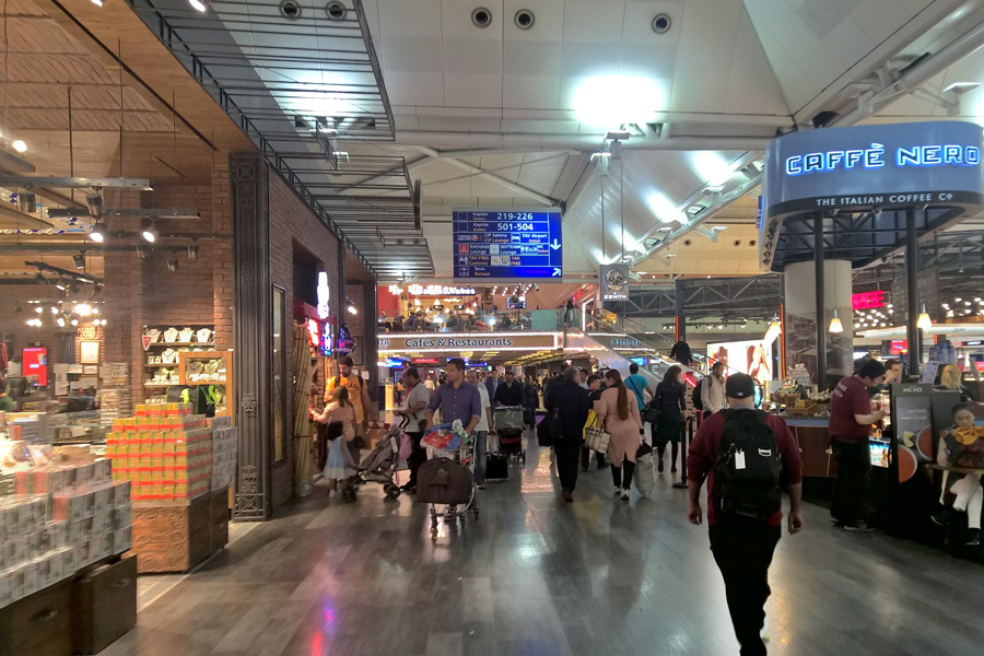 чем заняться во время стыковки аэропорт Ататюрка