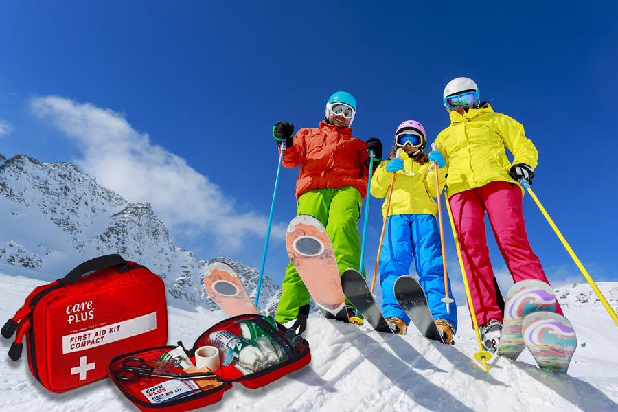 аптечка на горнолыжный курорт
