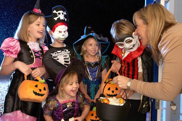 как праздную хэллоуин