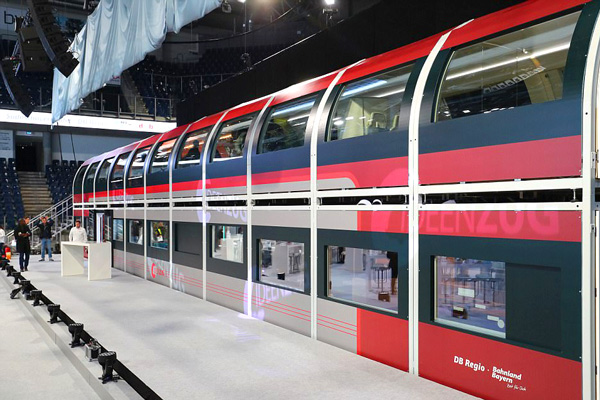 поезд будущего из германии