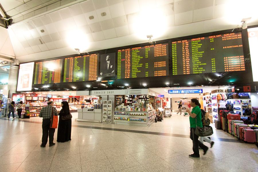 аэропорт Ататюрк чем заняться