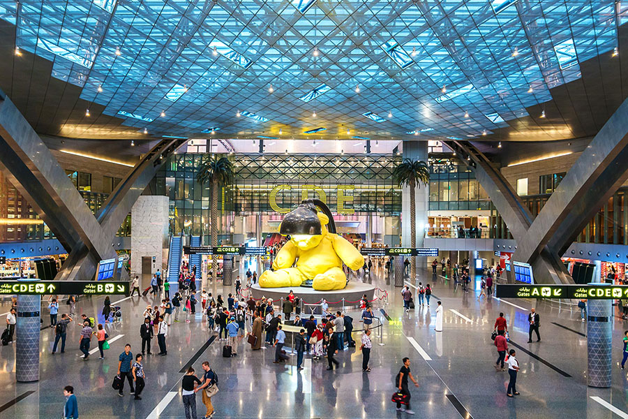 аэропорт Хамад чем заняться