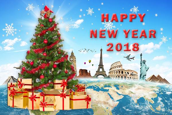 самые красивые рождественские елки мира