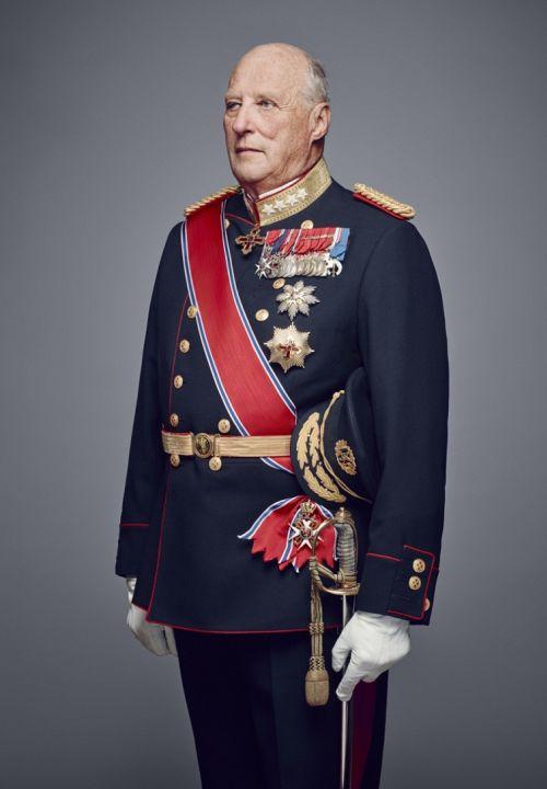 Харальд V король норвегии