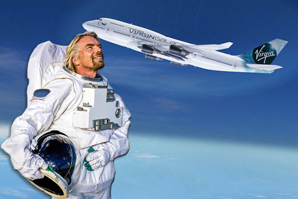 первый туры в космос Ричард Брэнсон