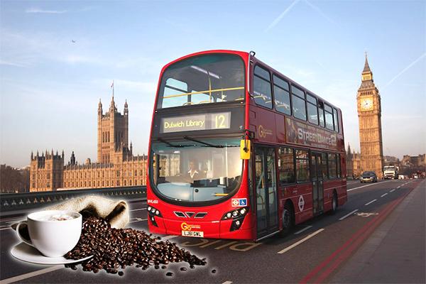 двухэтажные лондонские автобусы на биотопливе