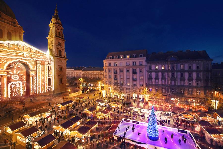 лучшие рождественские ярмарки европы будапешт