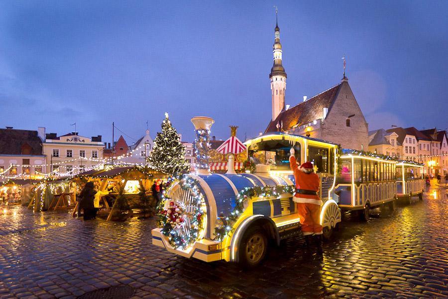 лучшие рождественские ярмарки европы таллин