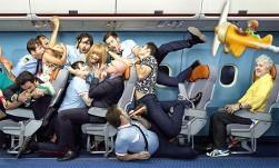 как правильно себя вести в самолете