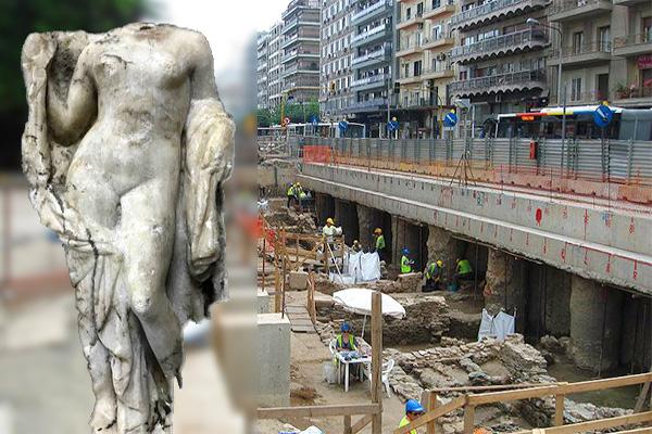 статуя афродиты солоники