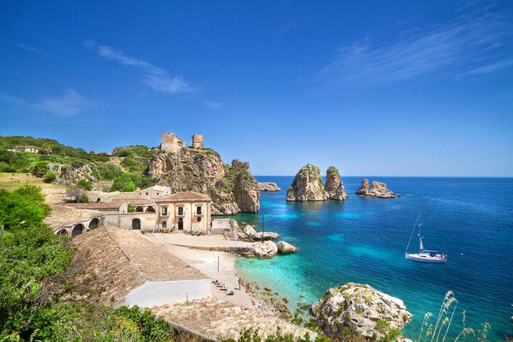 Пляжи острова Сицилия