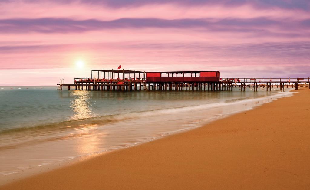 Пляж отеля Cornelia Diamond Golf Resort & Spa