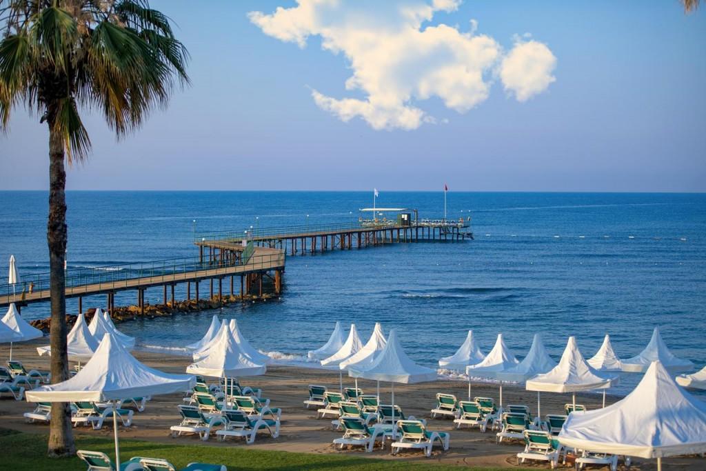Пляж отеля Turquoise Hotel