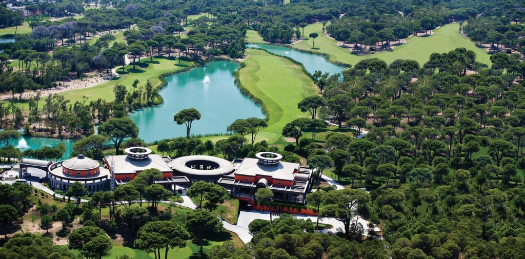 Территория отеля Cornelia Diamond Golf Resort & Spa