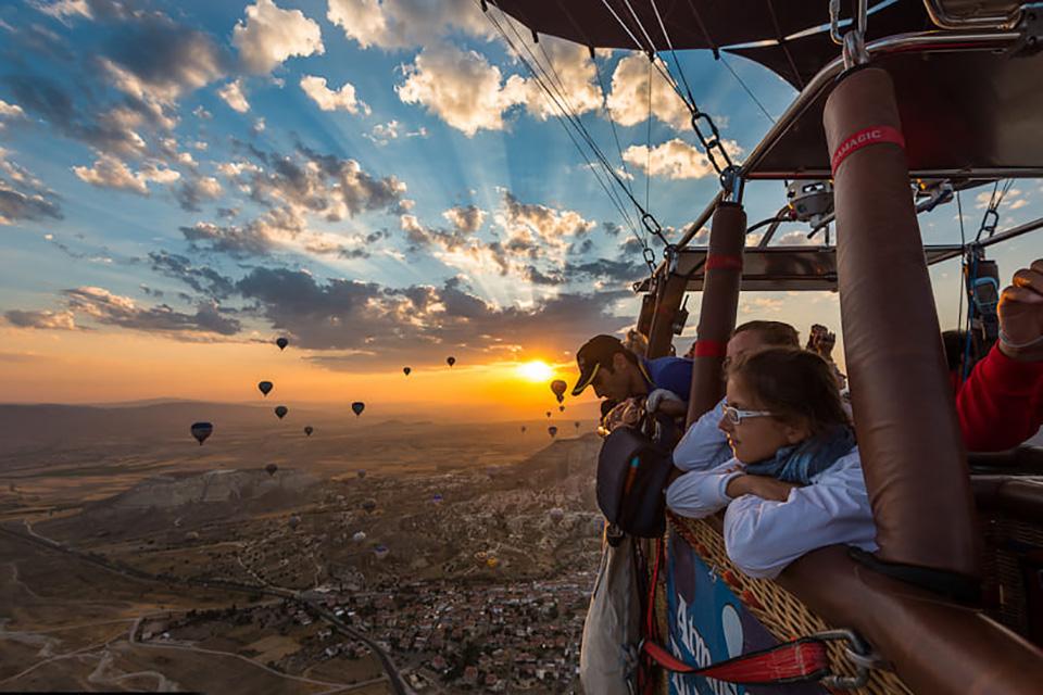 Воздушный шар на Гёреме