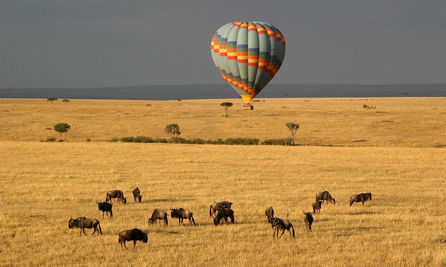 Полет на воздушном шаре в Масаи Мара в Кении