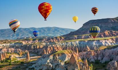 Лучшие места для полетов на воздушном шаре