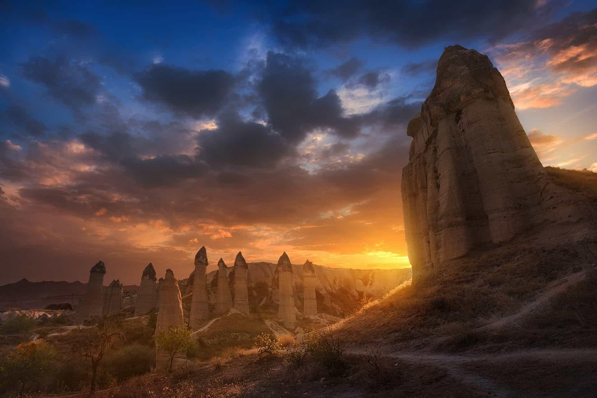 Фантастические ландшафты национального парка Гёреме