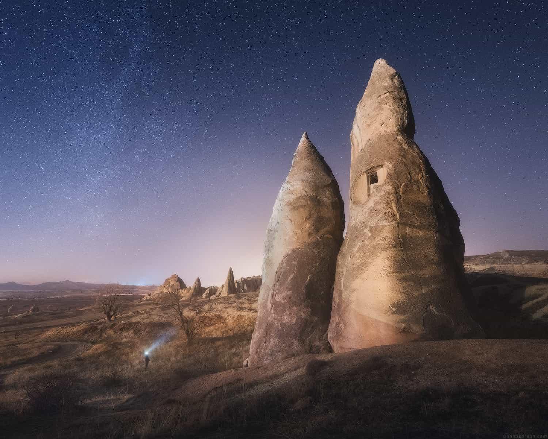 Фотографии из национального парк Гёреме напоминают инопланетные пейзажи