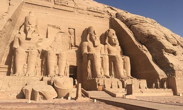 храм Рамзеса II в Абу-Симбел на юге Египта