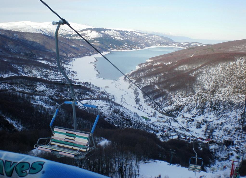 Горнолыжный сезон без снега в Македонии