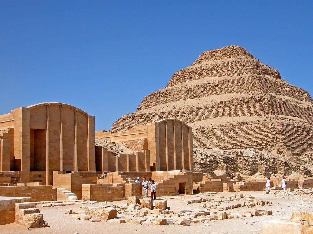 Старейшую пирамиду Египта вновь открыли спустя 14 лет