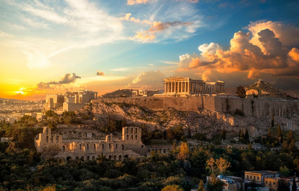 Acropolis in Athens 02