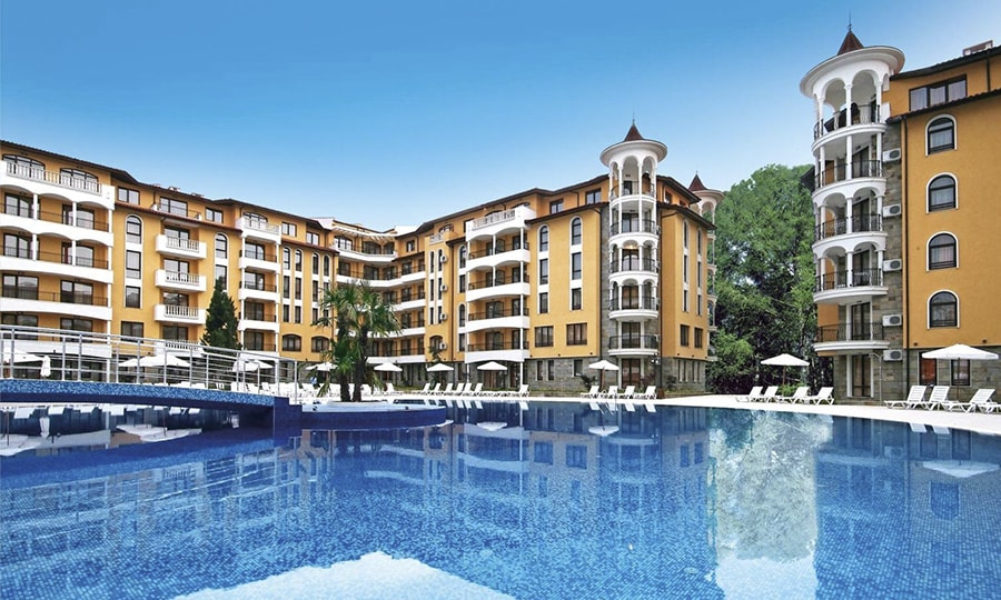 Aparthotel Royal Sun 2*, Солнечный берег, Болгария